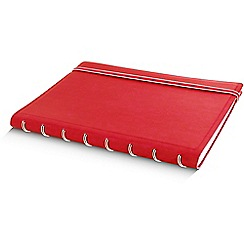 Filofax - Red refillable a5 notebook
