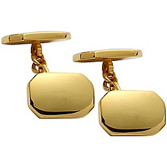 Gaventa - Gold chain link cufflinks