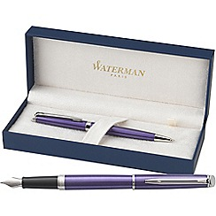 Waterman - Purple 'Hemisphere' fountain pen/ball pen