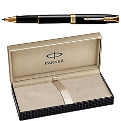 Parker - Laque black gold trim 'Sonnet' rollerball