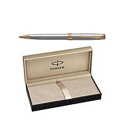 Parker - Stainless steel gold trim 'Sonnet' ball pen