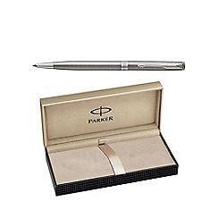 Parker - Stainless steel palladium 'Sonnet' slim ball pen