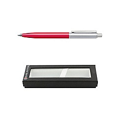 Sheaffer - Deep pink chrome sentinel ball pen