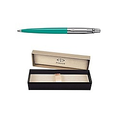 Parker - Grey green jotter ball pen