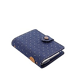 Filofax - Indigo 'Denim Dots' pocket organiser