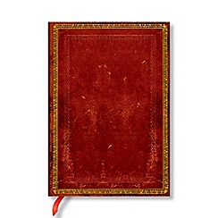 Paperblanks - Red 'Venetian' midi lined journal