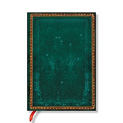 Paperblanks - Green 'Viridian' midi lined journal