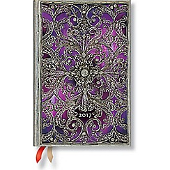 Paperblanks - 'Aubergine' mini week-to-view 2017 diary