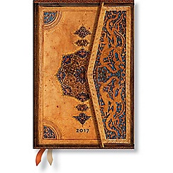 Paperblanks - 'Safavid' mini day-per-page 2017 diary