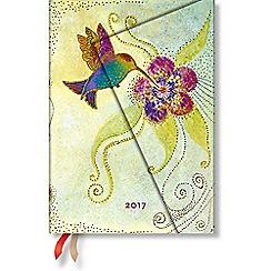 Paperblanks - 'Hummingbird' midi day-per-page 2017 diary