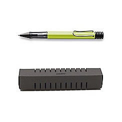 Lamy - Green charged al-star ball pen