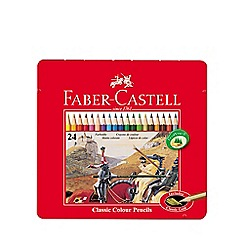 Faber Castell - Classic coloured pencils - tin of 24