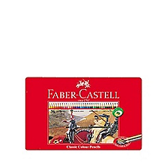 Faber Castell - Classic coloured pencils - tin of 36