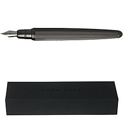 Hugo Boss - Dark chrome pure fountain pen