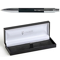 Kingsley - Black 'Barley Doue' ball pen