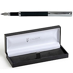 Kingsley - Black 'Barley Doue' fountain pen