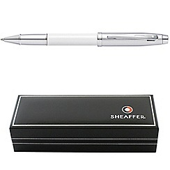 Sheaffer - White '100 Series' rollerball pen