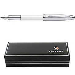 Sheaffer - White '100 Series' fountain pen