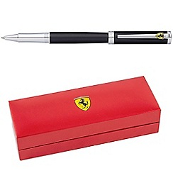 Ferrari - Satin Black 'Intensity' ball pen
