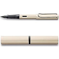 Lamy - Cream 'Palladium Lx' fountain pen