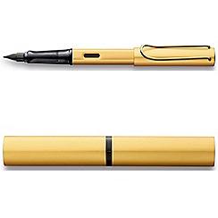 Lamy - Gold 'Lx' fountain pen