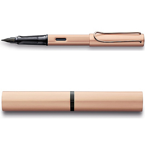 Lamy - Rose +Gold Lx+ fountain pen