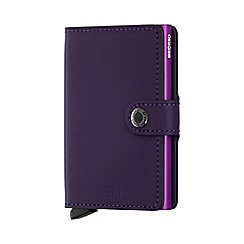 Secrid - Purple miniwallet matt