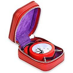 Campo Marzio - Cherry Red Travel clock