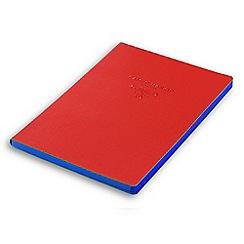 Campo Marzio - Red 16.5 x 23.4cm Blue Paper Journal