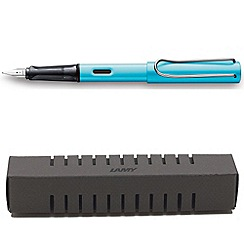 Lamy - Pacific blue al star fountain pen