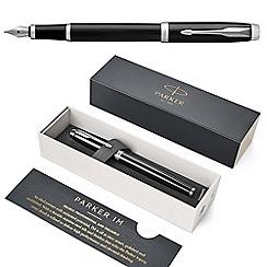 Parker - Black CT IM fountain pen
