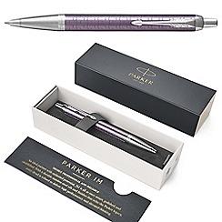 Parker - Dark violet IM premium ball pen
