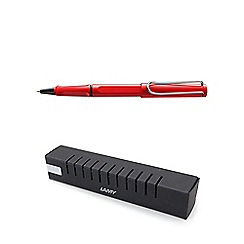 Lamy - Red 'safari' roller ball