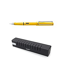 Lamy - Yellow safari fountain pen