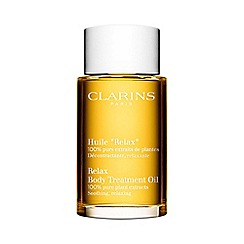Clarins - Soothing and relaxing body treatment oil 100ml