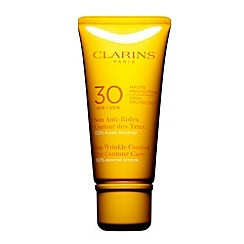 Clarins - Sun Wrinkle Control Eye Contour Cream High Protection UVB 30 20ml