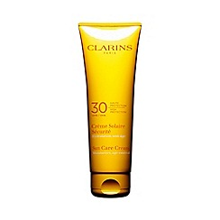 Clarins - Sun care cream UVB 30 high protection for sun-sensitive skin 125ml