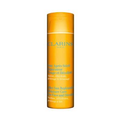 Clarins After Sun Replenishing Moisture Care for Face & d&#233collet&#233 50ml - -