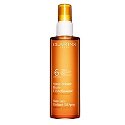 Clarins - Sun Care Spray Radiant Oil Low Protection 'For Body and Hair' UVB 6 150ml