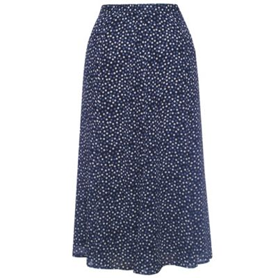 Eastex Spot flared georgette skirt product image