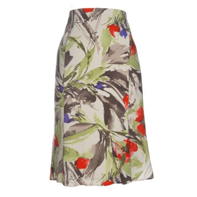 Minuet Petite Petite Watercolour Floral Skirt product image