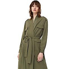 Mango - Khaki 'Evelin' trench coat