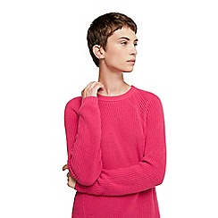 Mango - Pink 'Genzo' knitted sweater