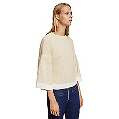 Mango - Cream 'Granada' sweater