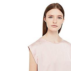 Mango - Light Pink 'Chem' t-shirt