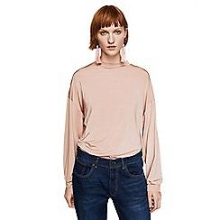 Mango - Pink 'Rosi' long sleeves t-shirt