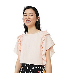 Mango - Pink 'Sole' batwing sleeve top
