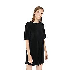 Mango - Black 'Benilun' flared sleeve dress