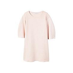 Mango - Pink 'Ante' mini dress