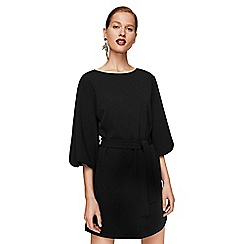 Mango - Black 'Amelie' mini shift dress